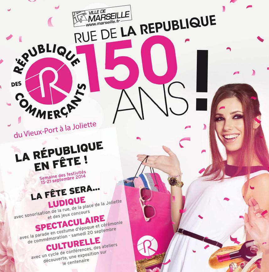 Les 150 ans de la rue de la République à Marseille !
