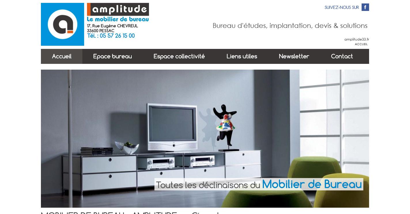 Mobilier de bureau pour entreprise gironde amplitude for Mobilier bureau entreprise