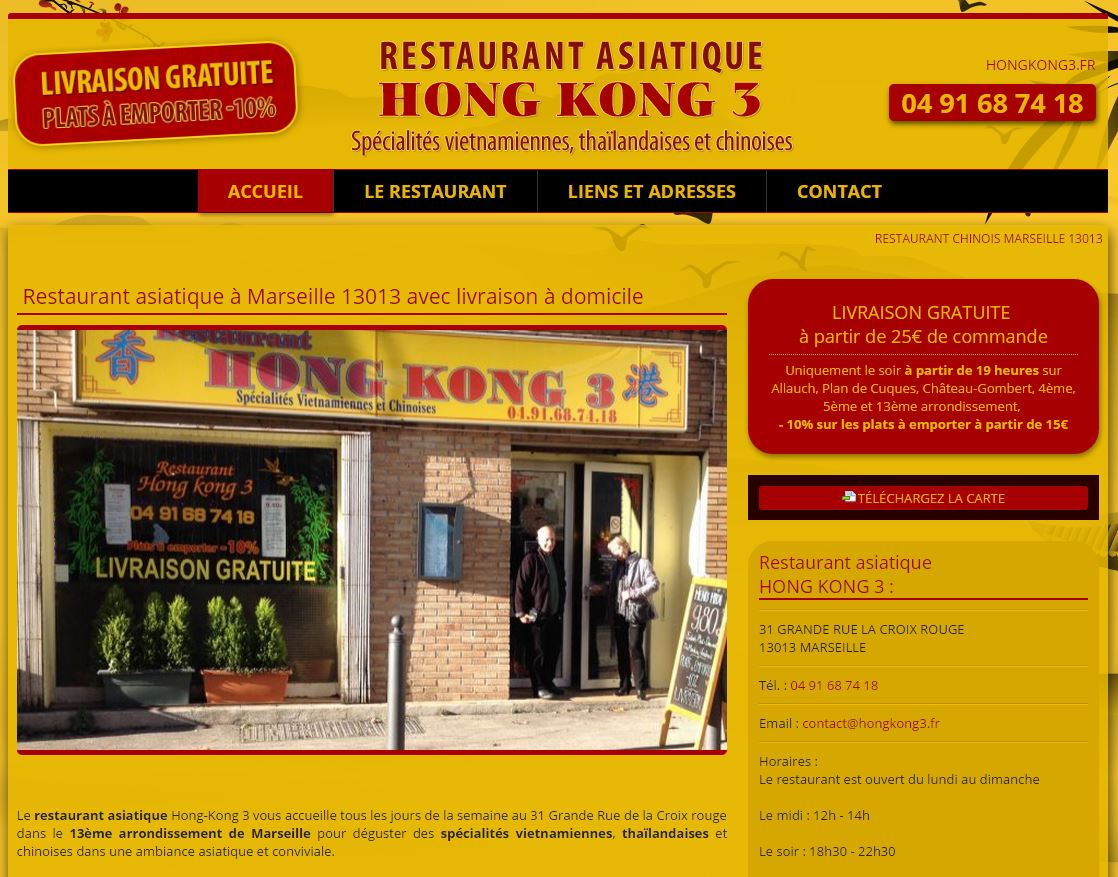 restaurant asiatique marseille la croix rouge hong kong 3 r alisations agence de. Black Bedroom Furniture Sets. Home Design Ideas