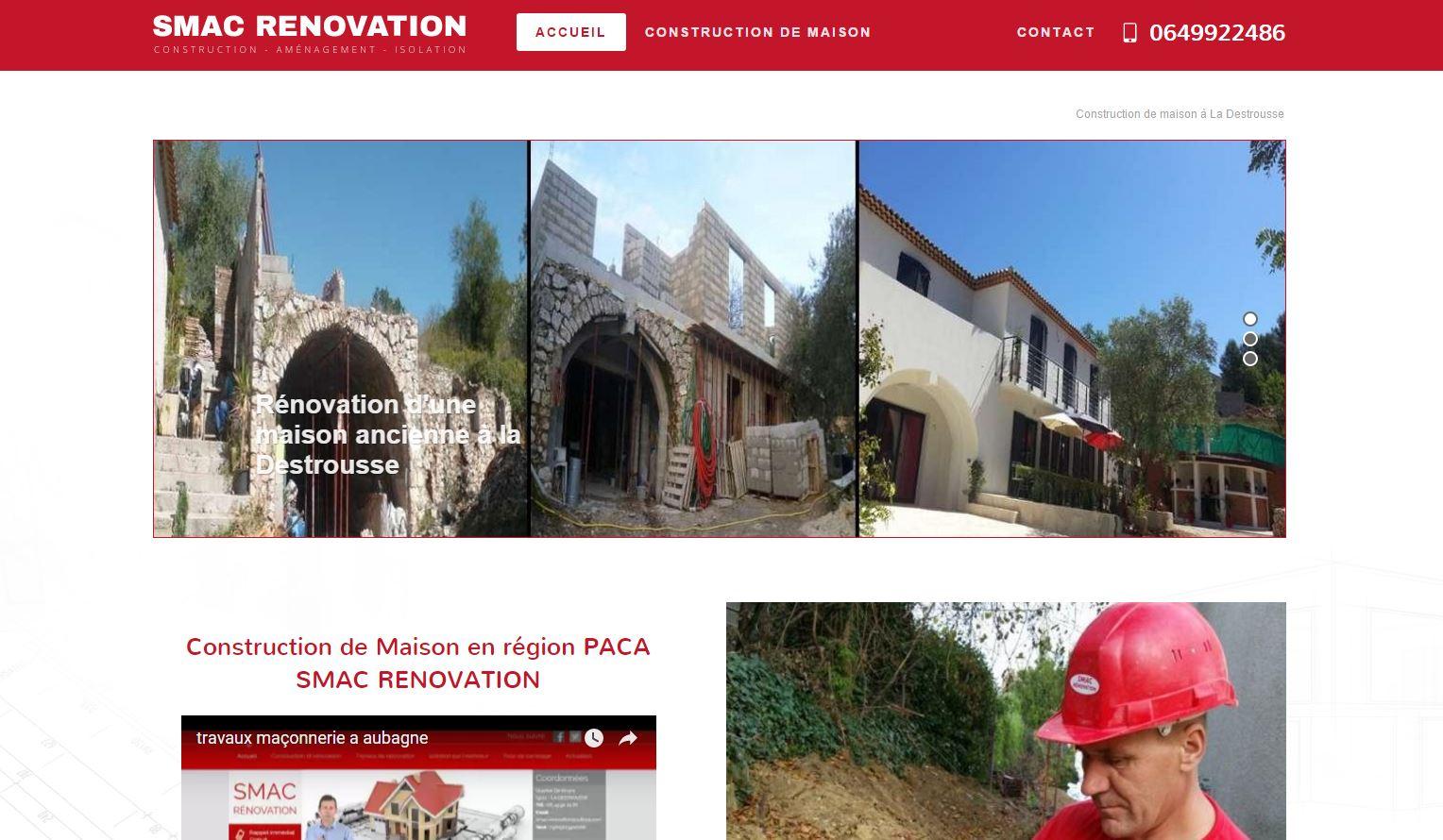 Nos r alisations de sites web pour professionnels marseille for Sites web pour concevoir des maisons gratuitement