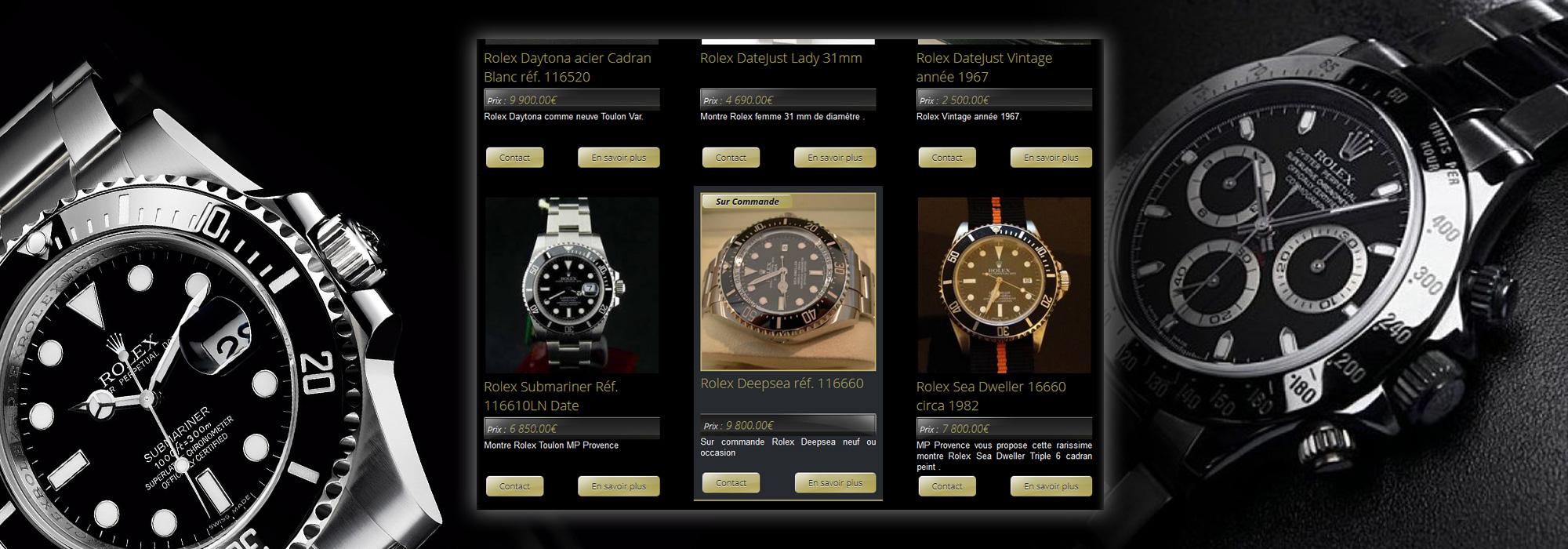 d p t vente de montres et sacs de luxe toulon agence web marseille jalis. Black Bedroom Furniture Sets. Home Design Ideas
