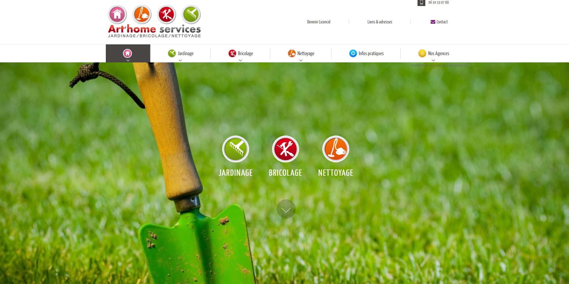 Entreprise de jardinage bricolage et nettoyage domicile for Entreprise de jardinage