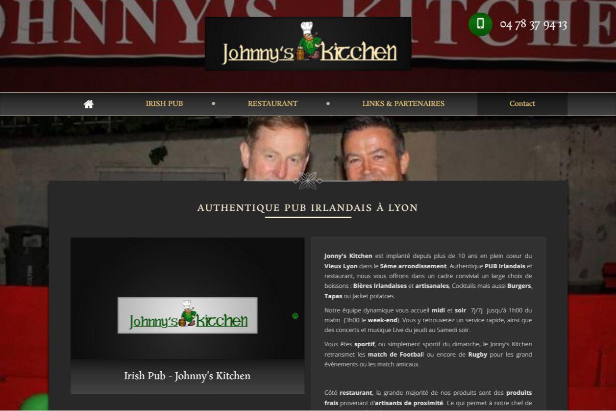 Webmarketing pour un irish pub à Lyon