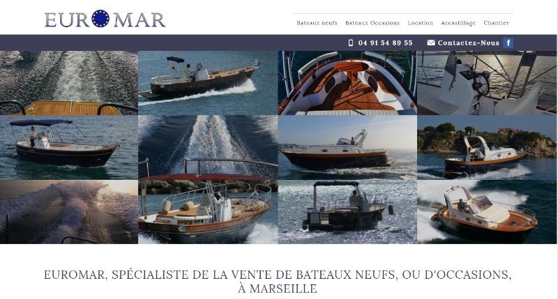 Vente bateau moteur neuf Marseille