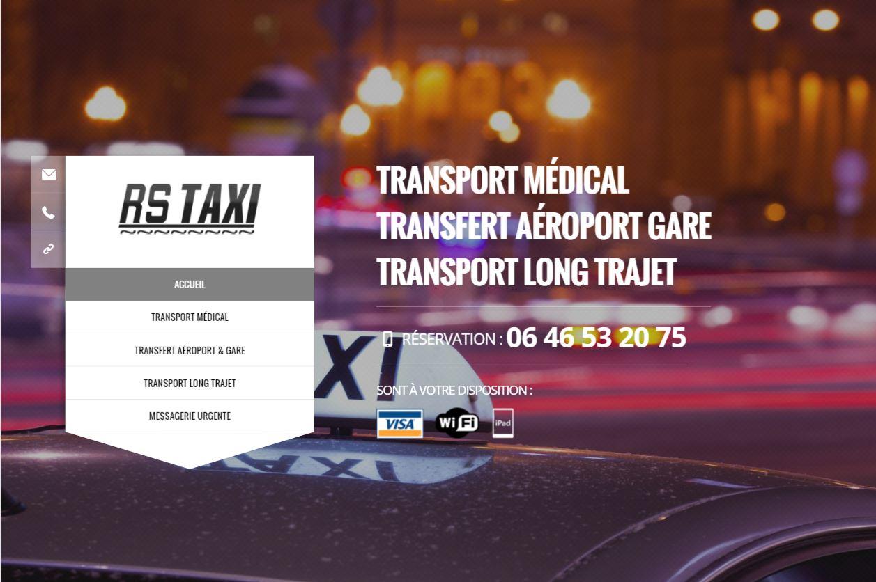 Référencement de site internet de taxi