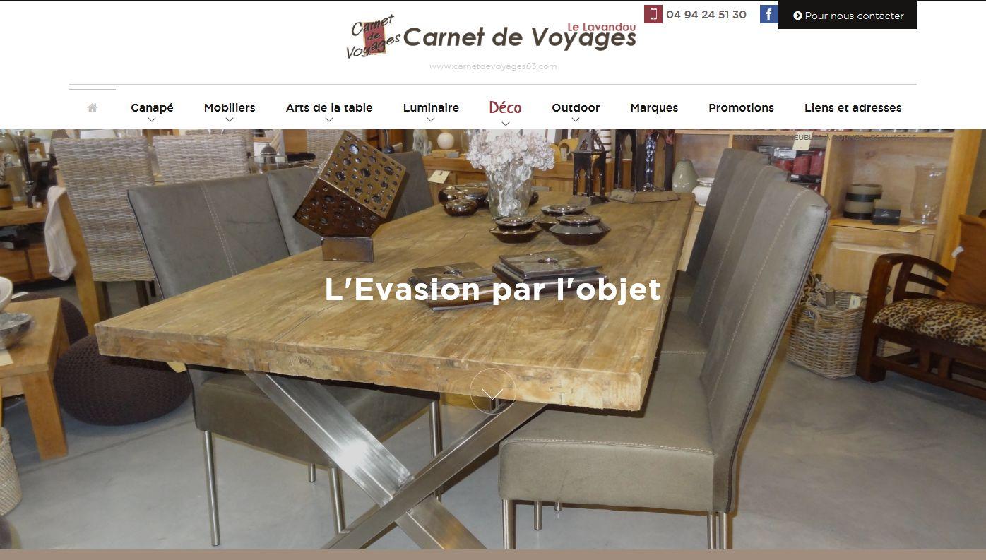 vente de mobilier d'intérieur Le Lavandou