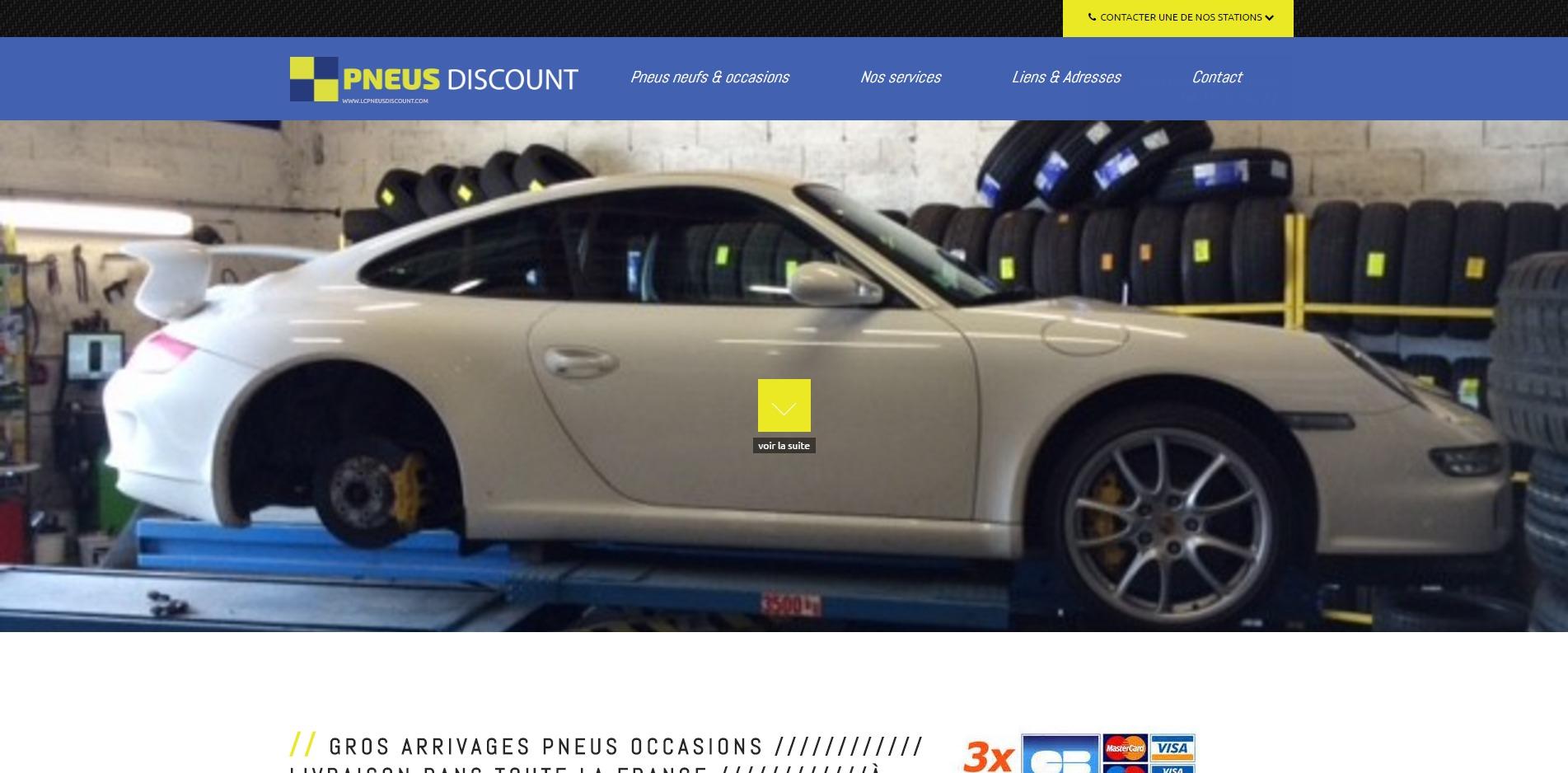 vente de pneus mont limar lc pneus discount site internet automobile jalis. Black Bedroom Furniture Sets. Home Design Ideas