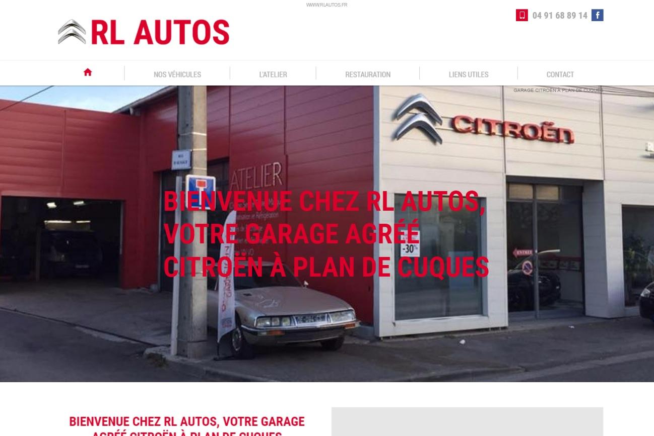 garage automobile agr citro n plan de cuques rl autos agence web marseille jalis. Black Bedroom Furniture Sets. Home Design Ideas