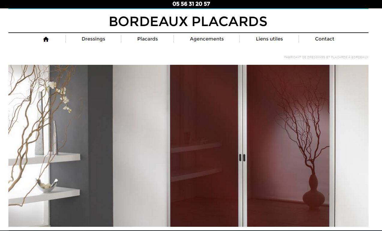 Conception de dressing sur mesure à Bordeaux