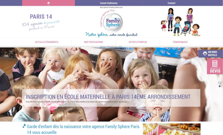 Garde d'enfants paris 14