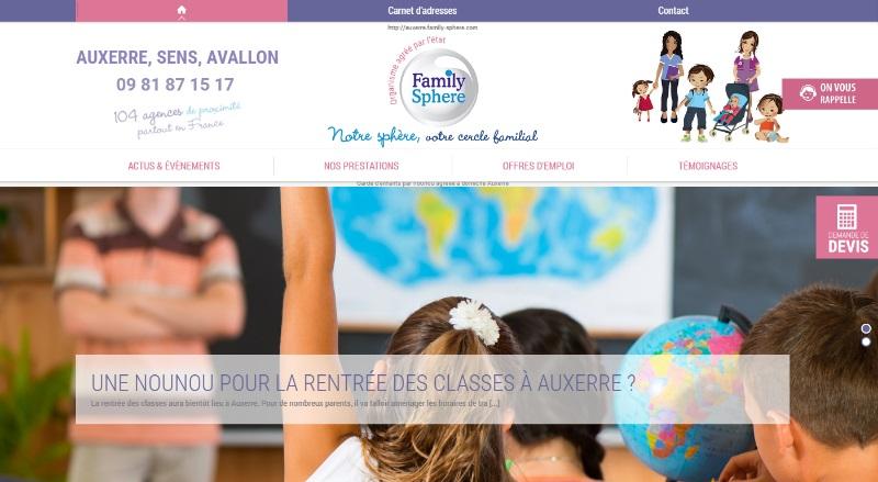 Agence de nourrices à domicile Auxerre