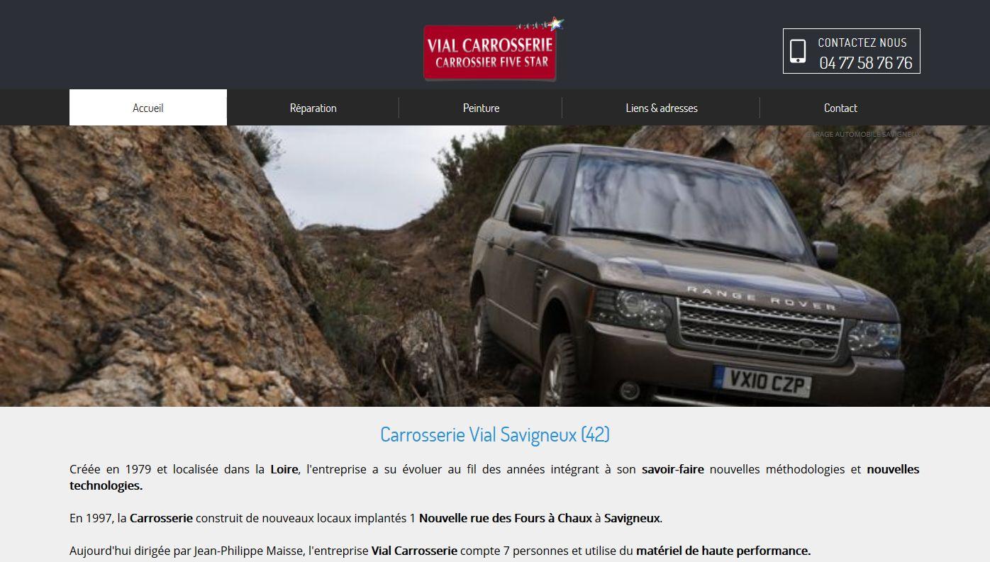 Garage auto pour r paration de carrosserie sur montbrison for Site internet pour garage automobile