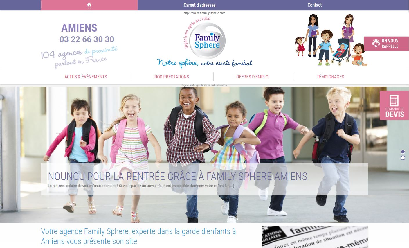 Family Sphere Amiens