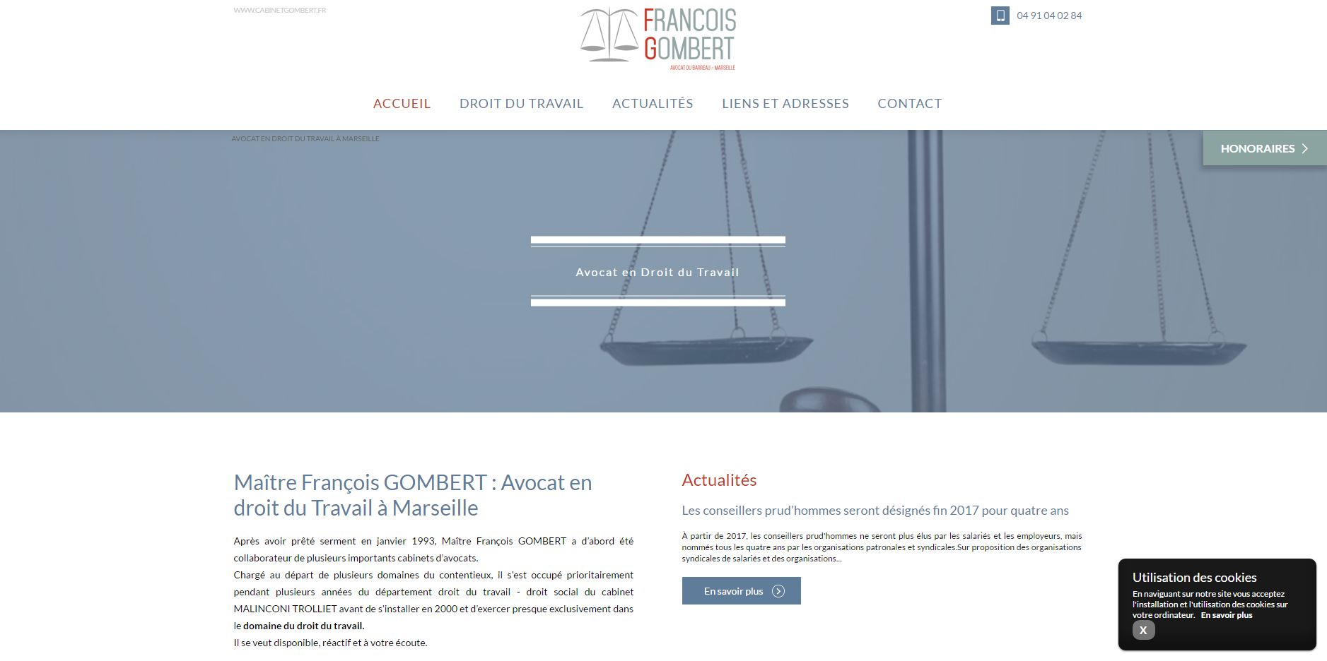 Cabinet d'avocats en droit du travail à Marseille