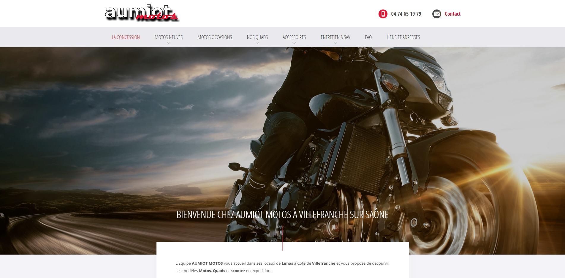 vente de motos sur villefranche sur sa ne aumiot motos site internet automobile jalis. Black Bedroom Furniture Sets. Home Design Ideas