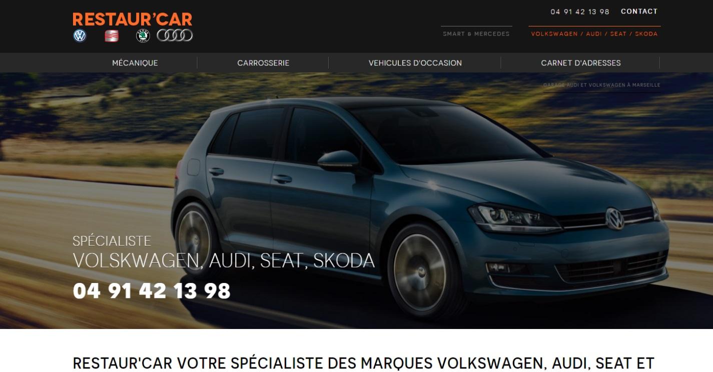 Garage volkswagen et Audi Marseille