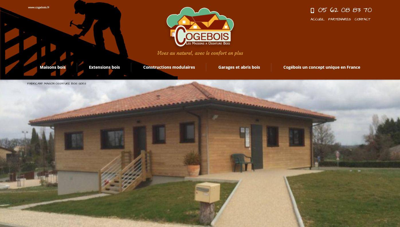 Constructeur De Maison Gers constructeur de maison en bois dans le gers - cogebois - jalis