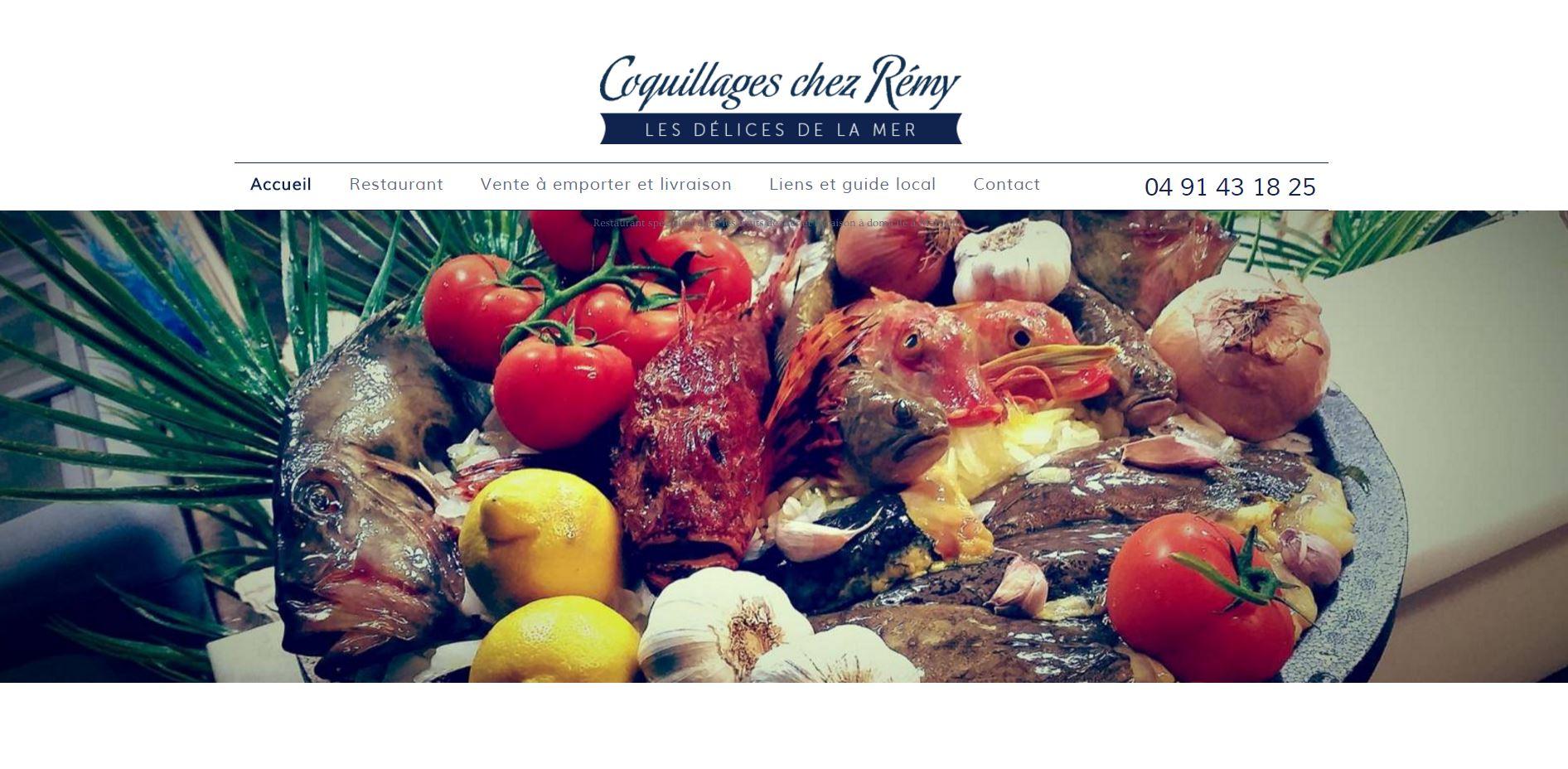 Vente à emporter de fruits de mer à Marseille