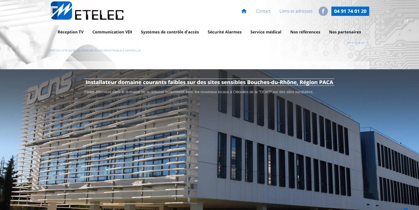 Entreprise courant faible Marseille