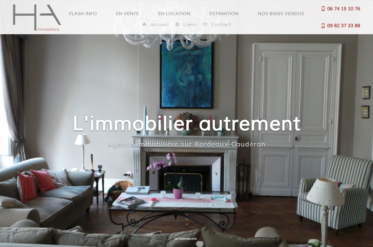 Agence immobili re bordeaux caud ran ha immobiliers for Agence immobiliere bordeaux cauderan