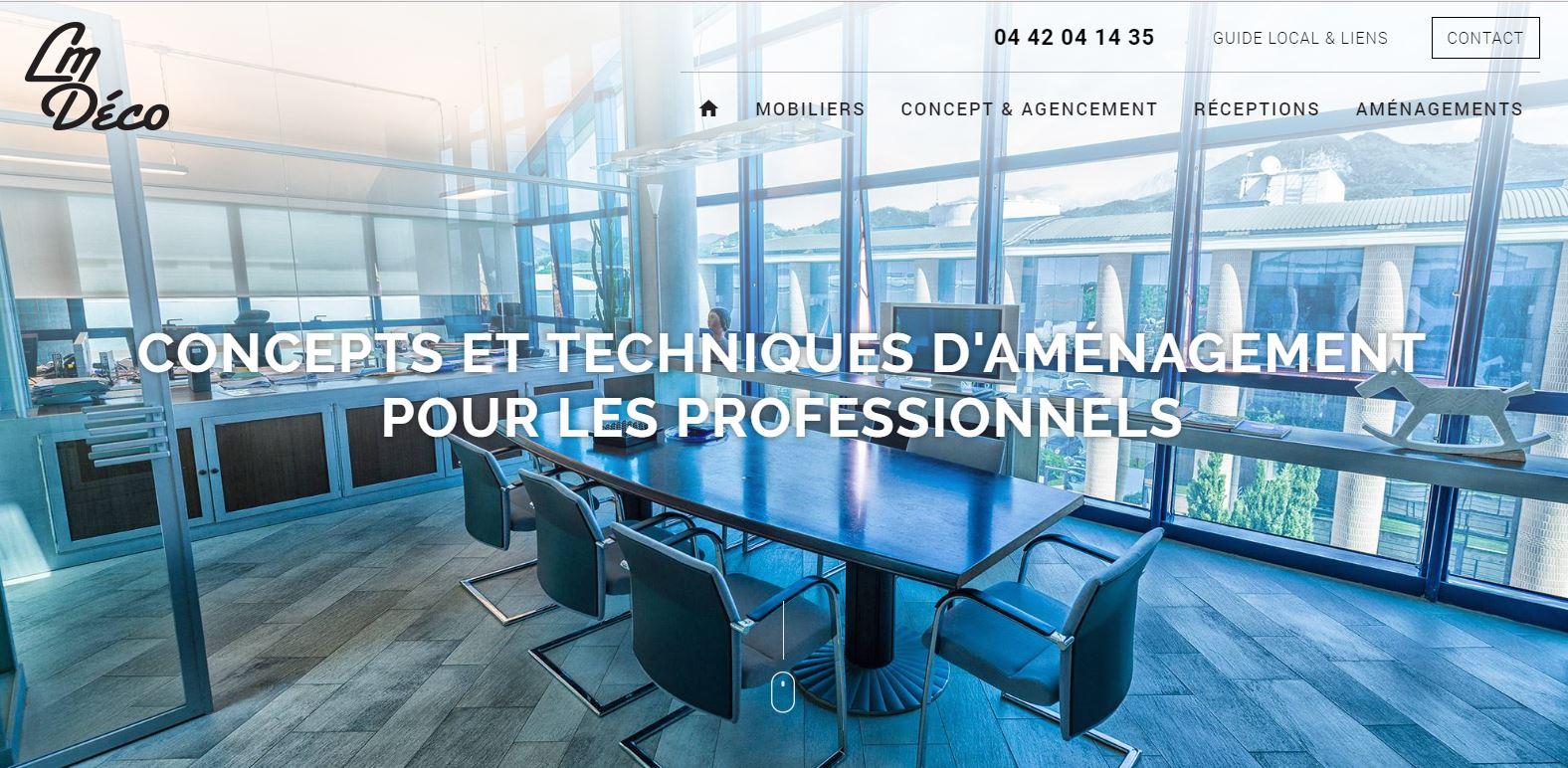 Agencement de bureau d'entreprise Marseille