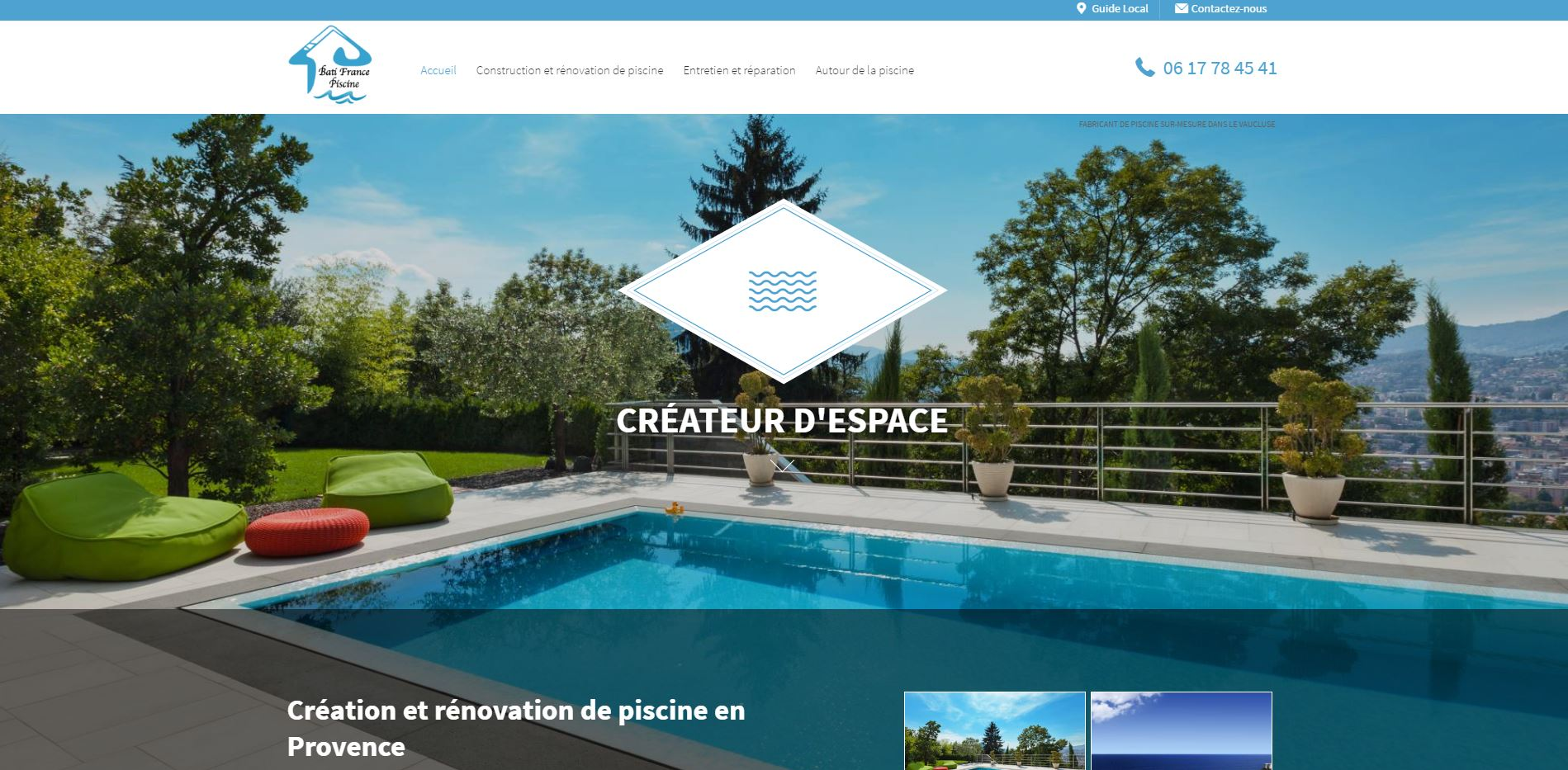 Constructeur De Piscine Montpellier constructeur de piscine à débordement vers avignon - bati