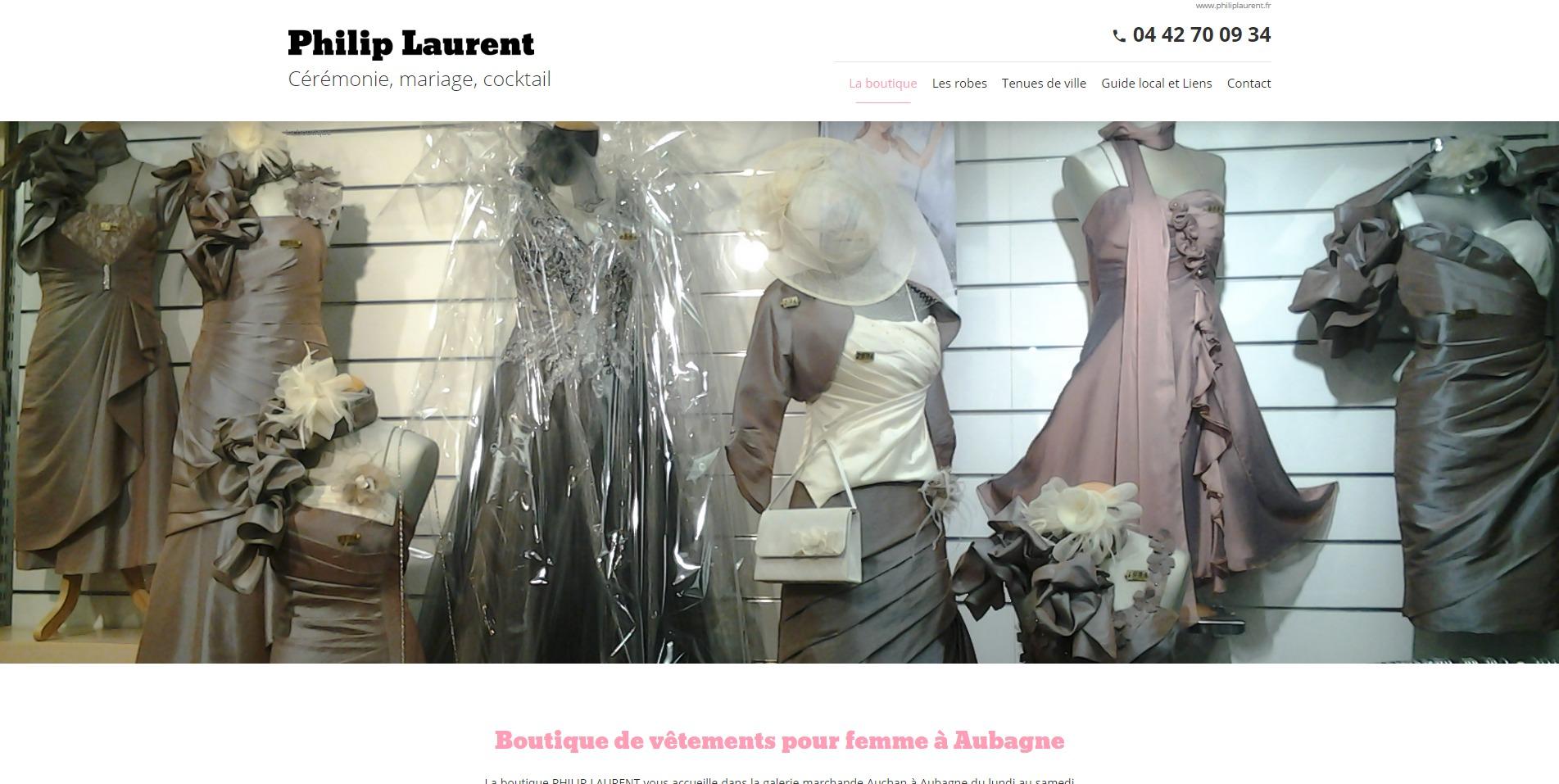 le meilleur conception de la variété offre Magasin de robes de soirée et cérémonie à Aubagne - Philip ...