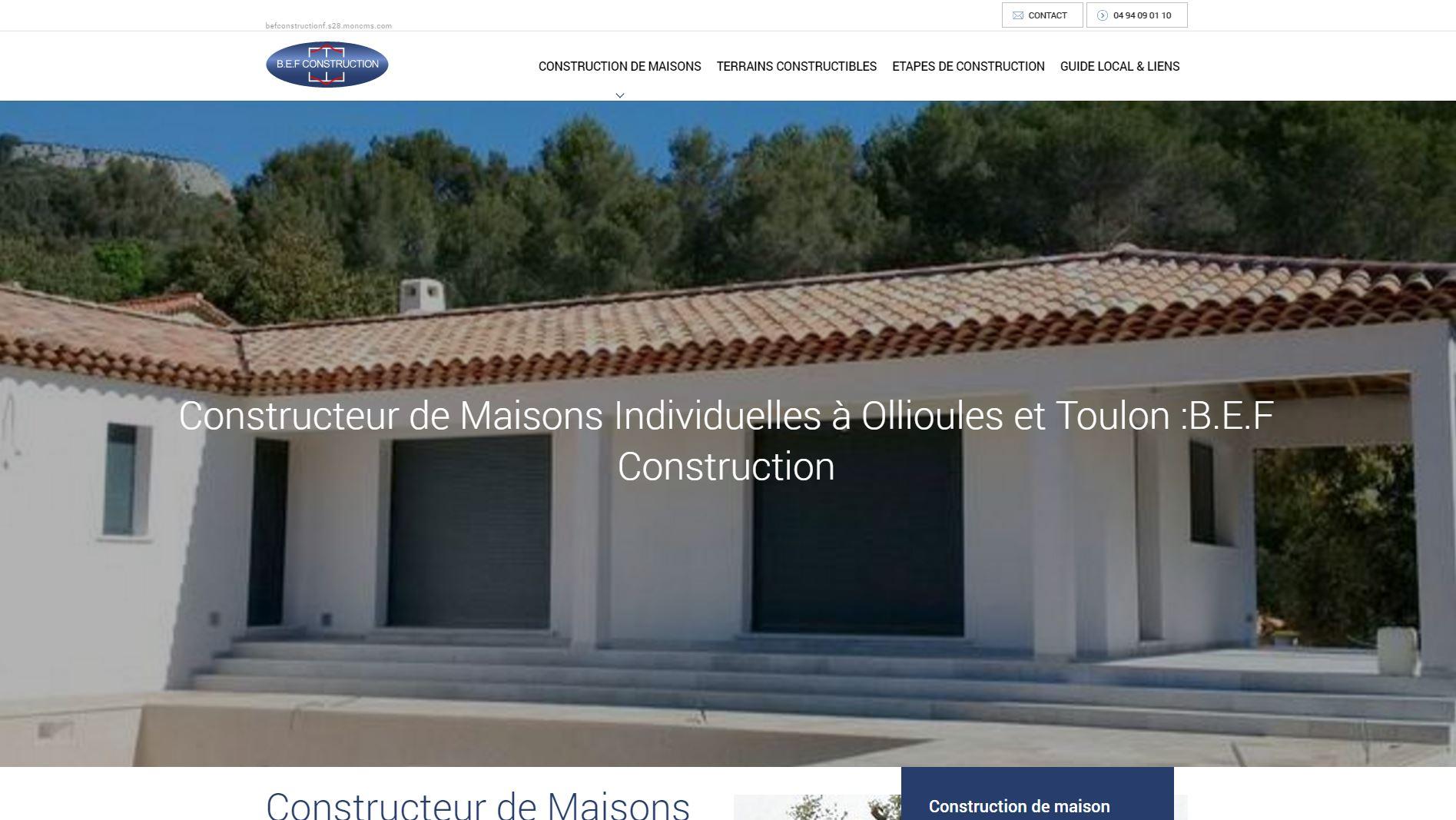 Constructeur de maisons individuelles et villas la garde for Artisan constructeur maison individuelle