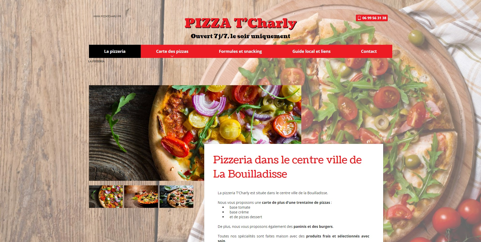 pizza tcharly