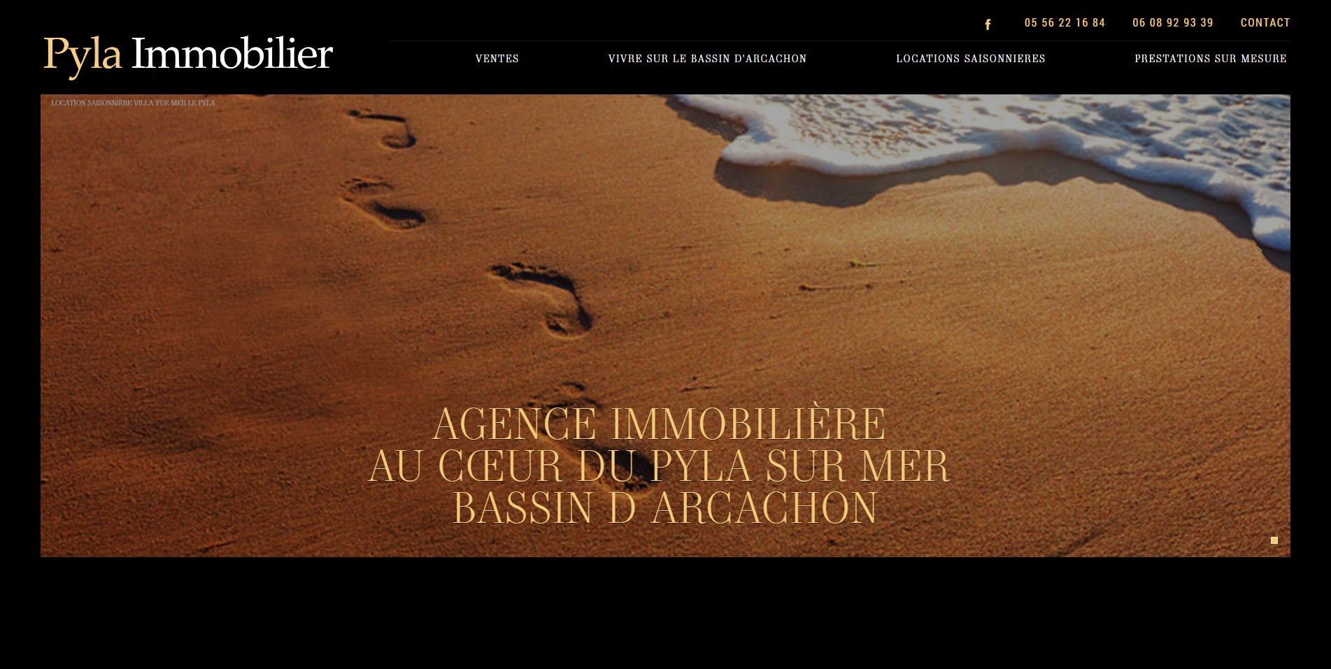 pyla immobilier