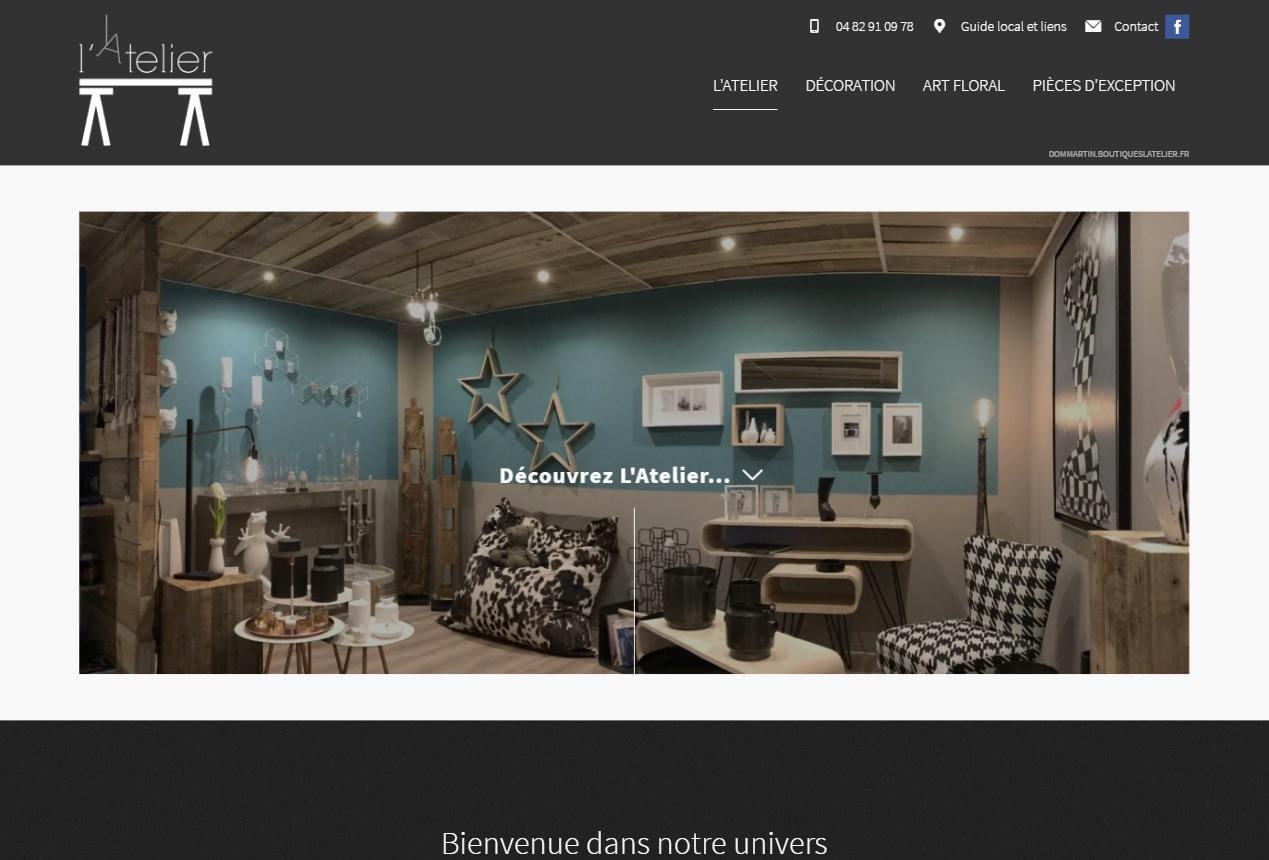 magasin de d coration et artisan fleuriste vers lyon l 39 atelier dommartin jalis. Black Bedroom Furniture Sets. Home Design Ideas