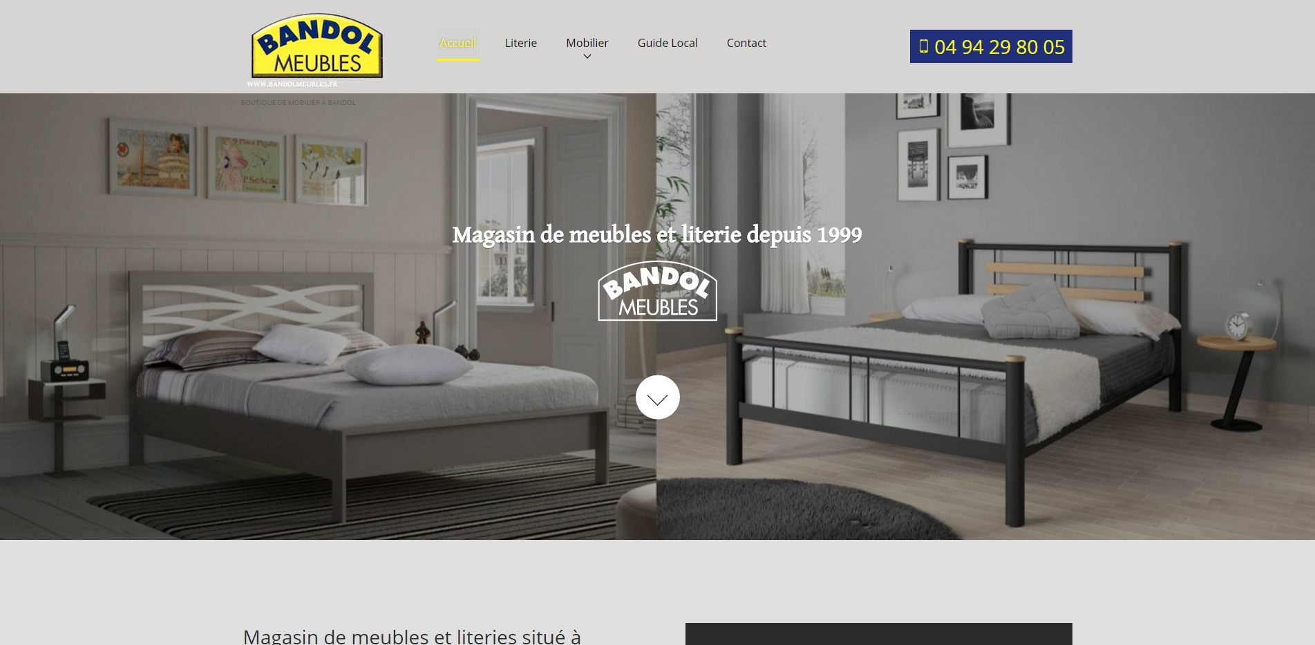 magasin de meubles bandol bandol meubles agence web marseille jalis. Black Bedroom Furniture Sets. Home Design Ideas