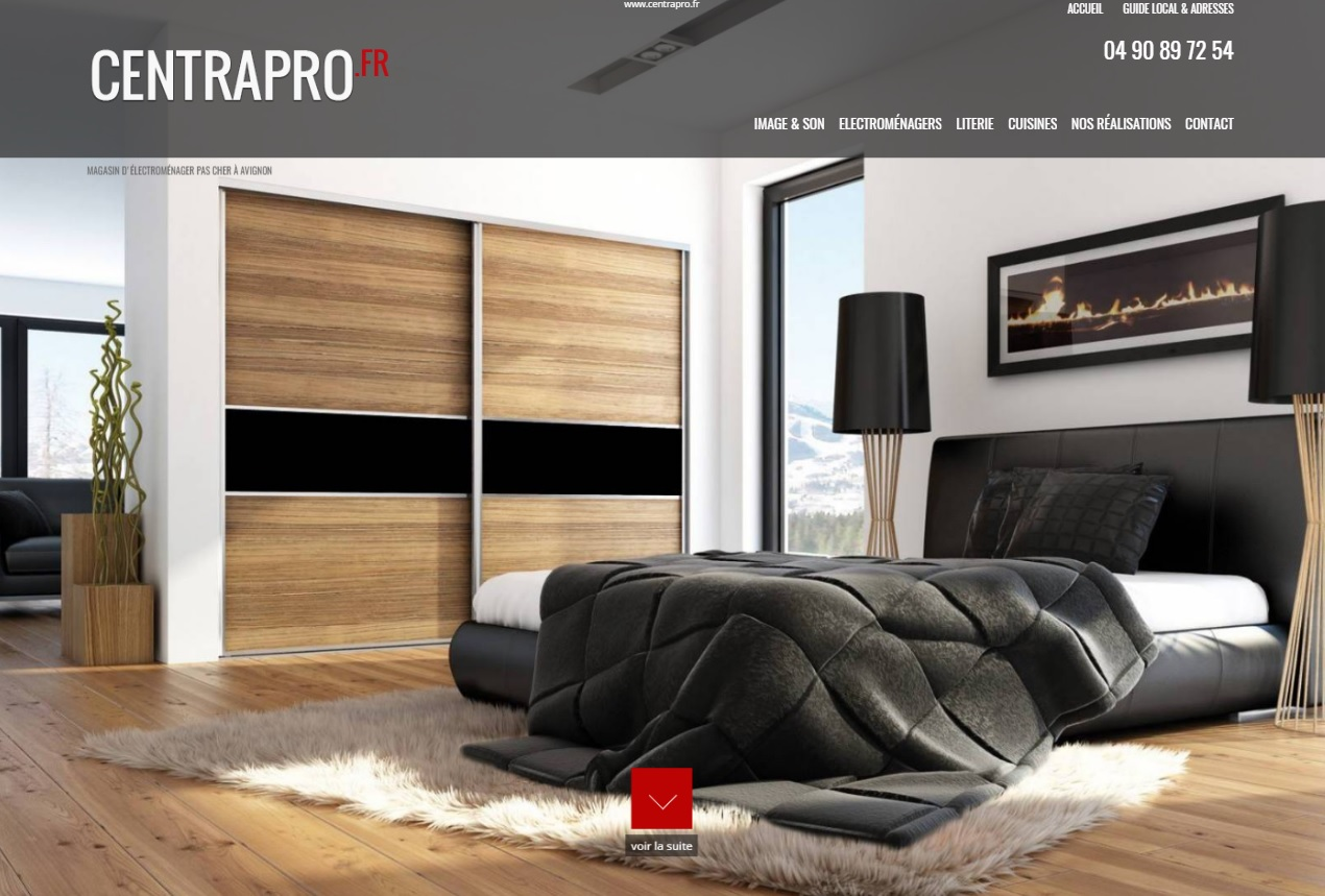 magasin d 39 lectrom nager et cuisine avignon centrapro jalis. Black Bedroom Furniture Sets. Home Design Ideas