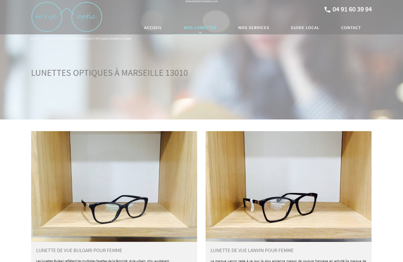 Opticien avec tiers payant à Marseille 13010 - M eye Optic Agence ... 63a5f9446ad4