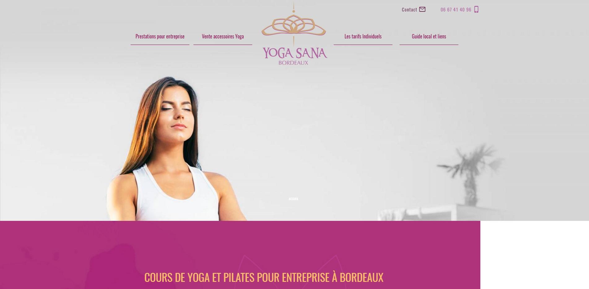 yoga sana