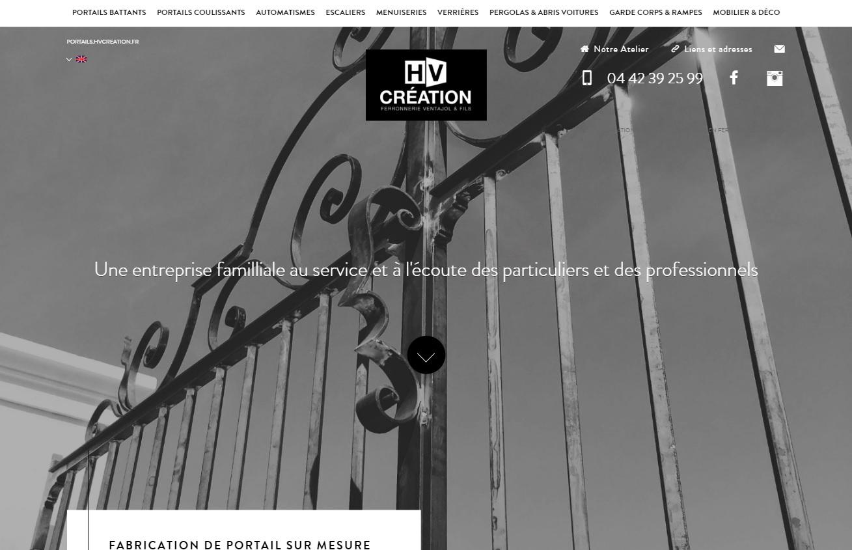 Fabrication de portail en fer forgé à Aix en Provence