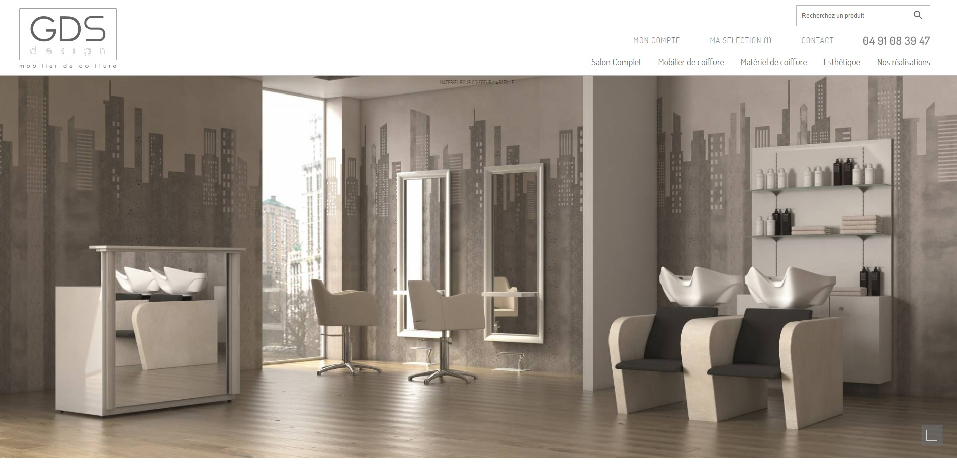 Site de vente en ligne de mat riel pour coiffeurs gds - Design vente en ligne ...