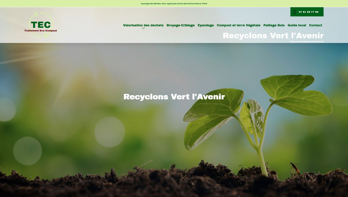 achat de compost Aix en Provence