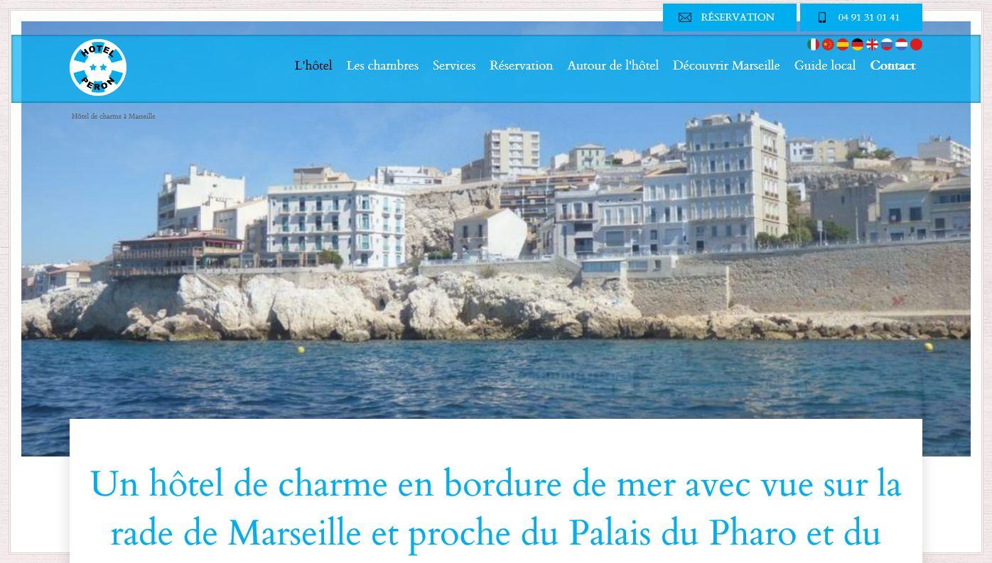 hôtel de charme Marseille 13007