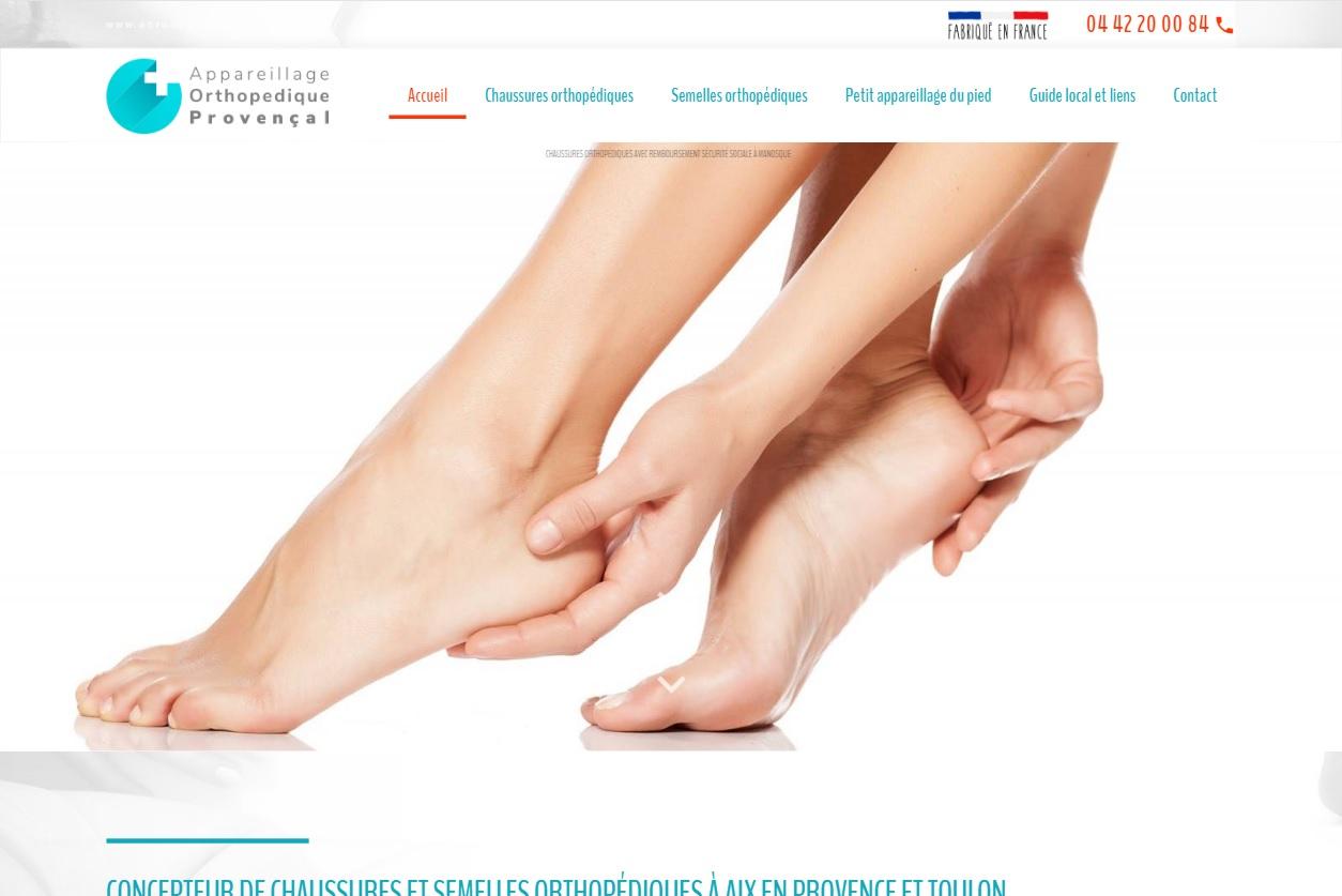 Chaussures orthopédiques sur-mesure à Aix-en-Provence