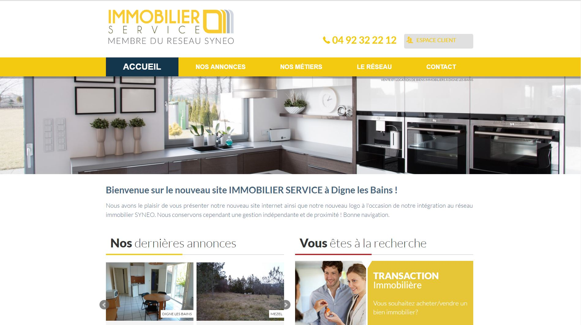 Agence immobiliere Digne les Bains