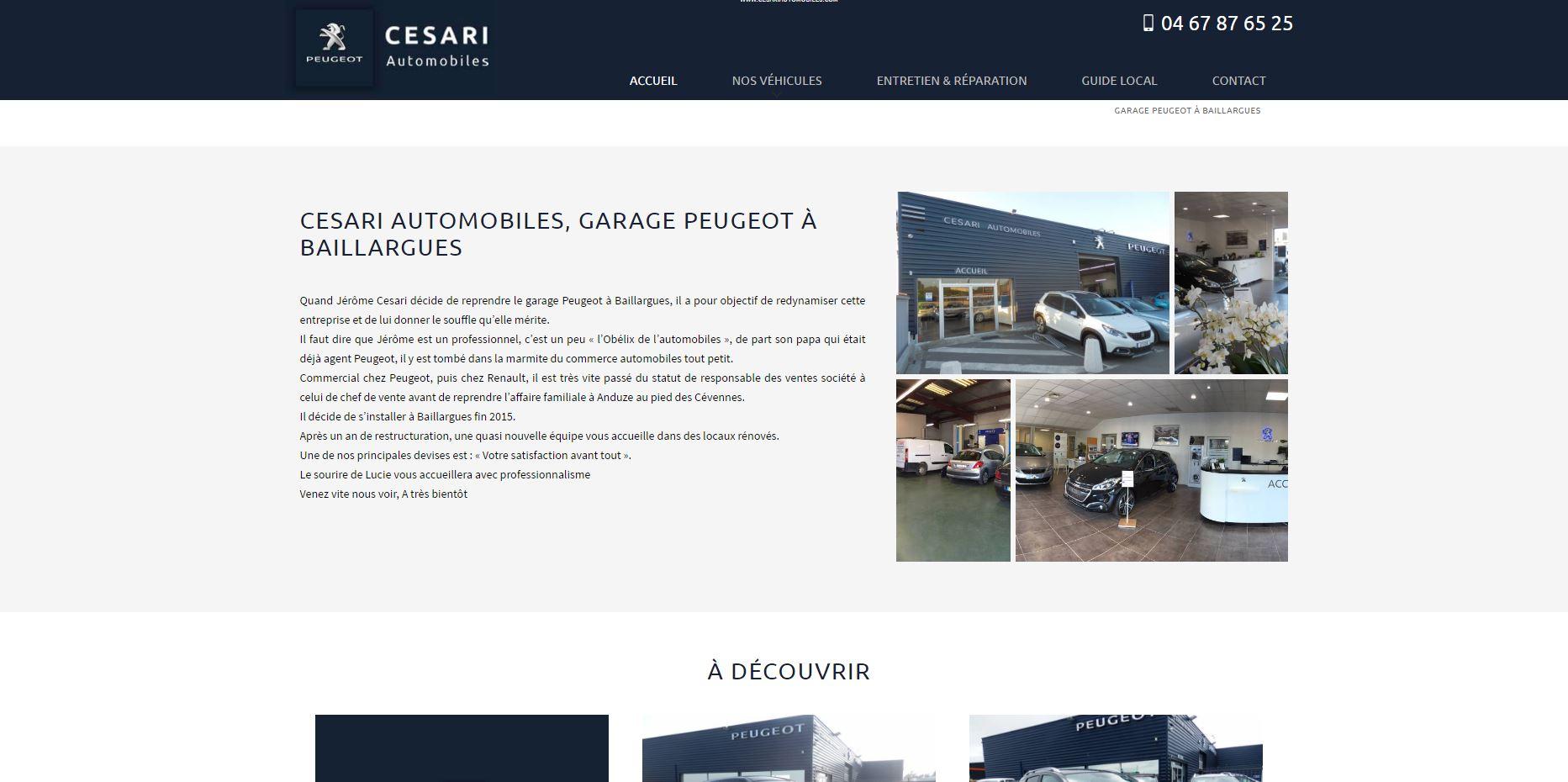 Concession Peugeot Baillargues