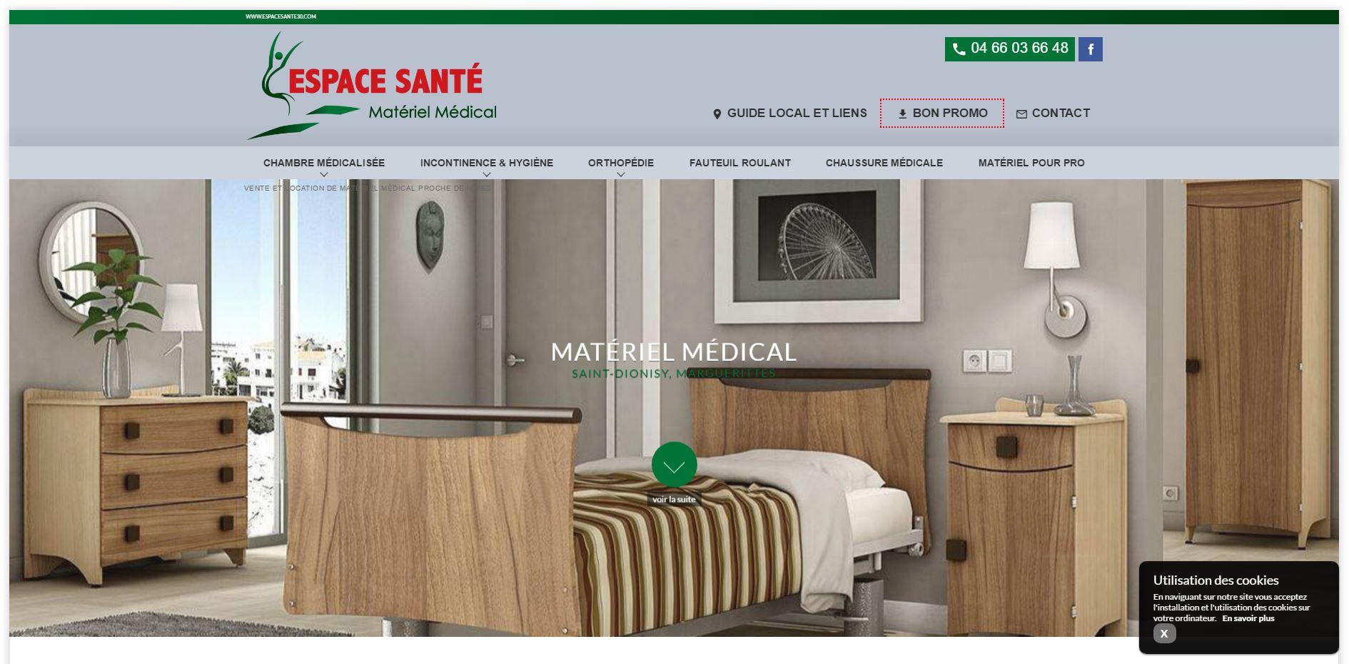 Boutique de matériel médical Nîmes
