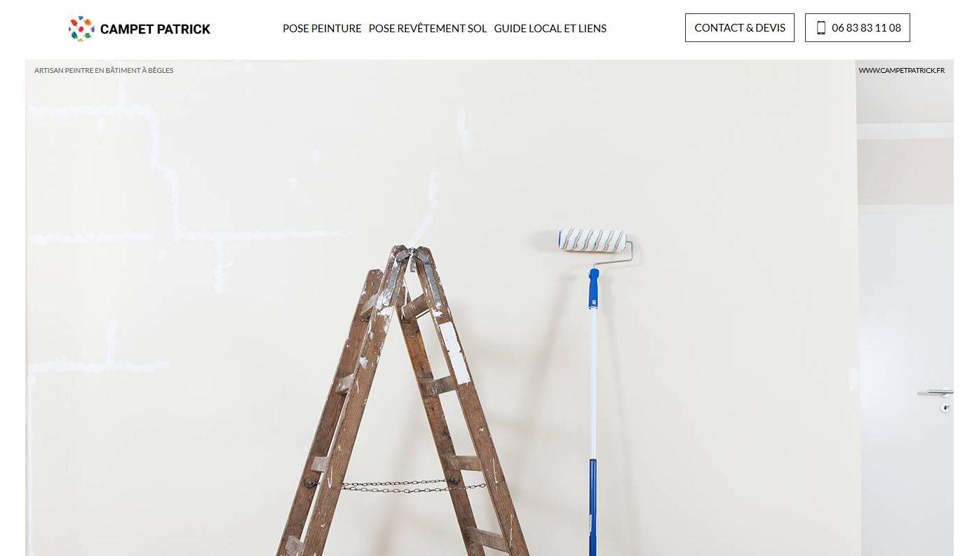 peinture en bâtiment à bègles - patrick campet - jalis