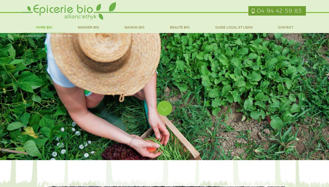 magasin de produits bio Hyères