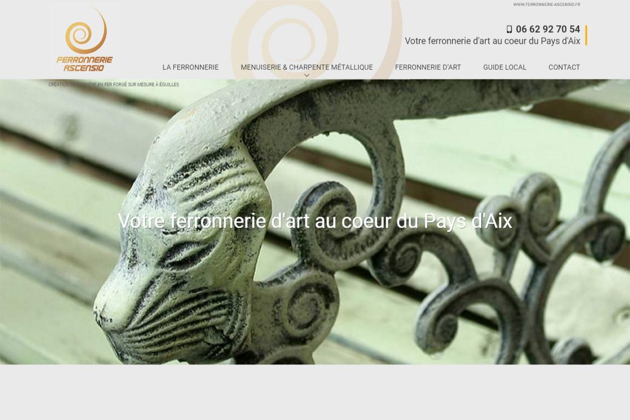 Création de verrières en fer forgé à Aix-en-Provence - Ferronnerie ... - Ferronnerie Marseille