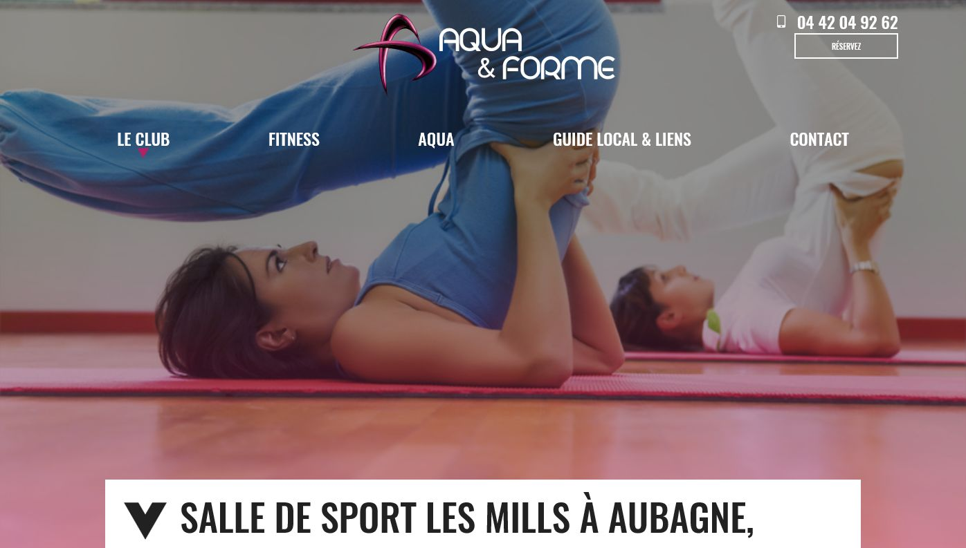 salle de sport pour aquagym et aquabike marseille aquaforme jalis. Black Bedroom Furniture Sets. Home Design Ideas