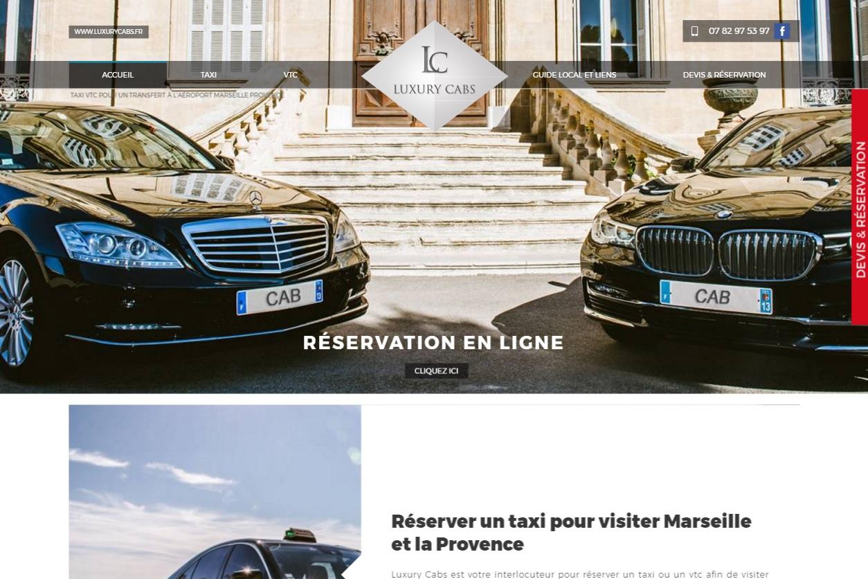 service de voiture vtc et taxi l 39 a roport marseille provence luxury cabs site internet. Black Bedroom Furniture Sets. Home Design Ideas