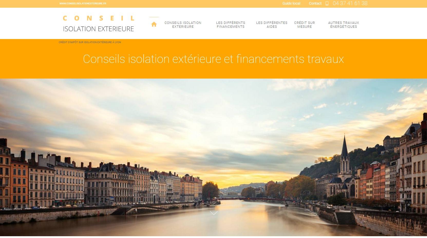 Crédit d'impôt sur isolation extérieure à Lyon