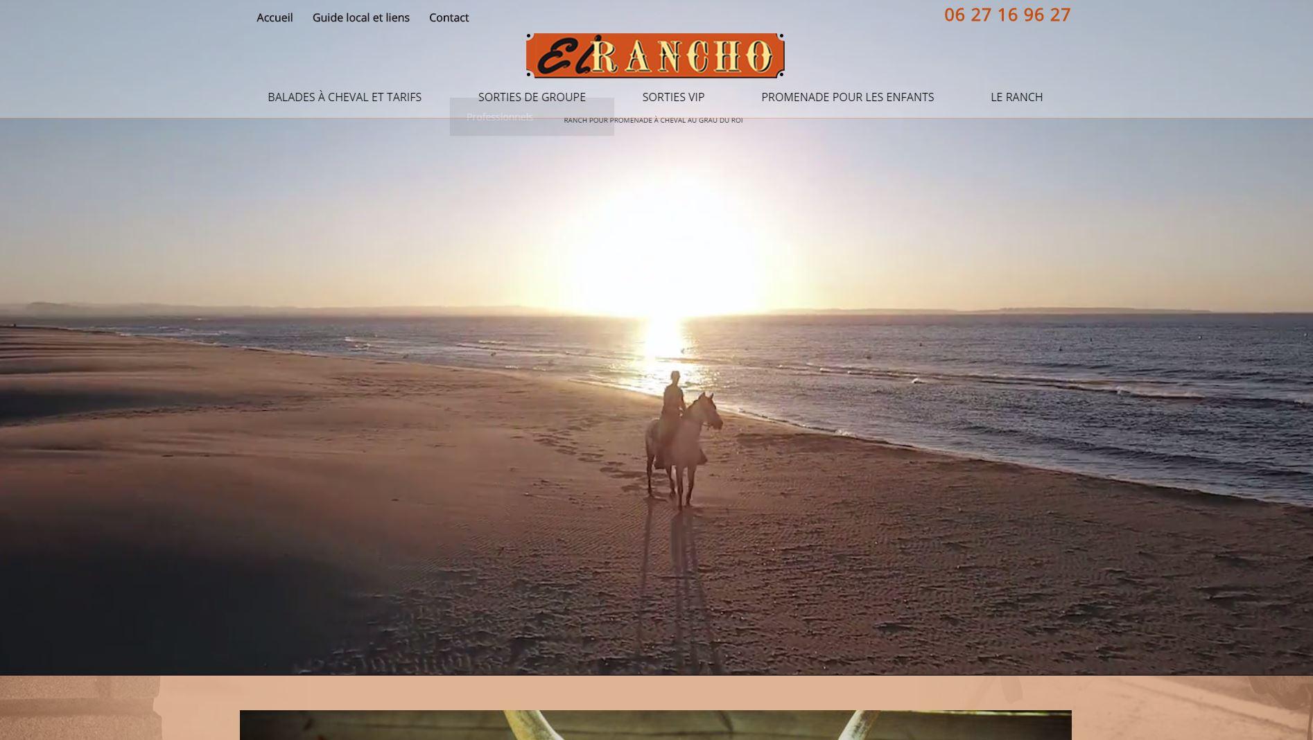 Balade en cheval en Camargue
